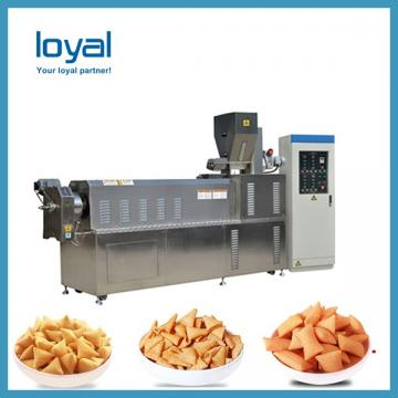 Screw/shell/extrusion fried pellet snacks equipment processing line