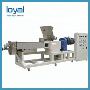 Shell Potato Food Twin Extruder Machine , Fried Snack Food Industry Equipment