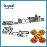 Lower Price Single Screw Crispy Pea Screw Shell Potato Starch Powder Food Papad Extruder