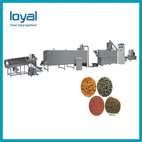 Bulk China Hot Selling Automatic Pet feed pellet/cat/dog food processing line/making machines #2 image