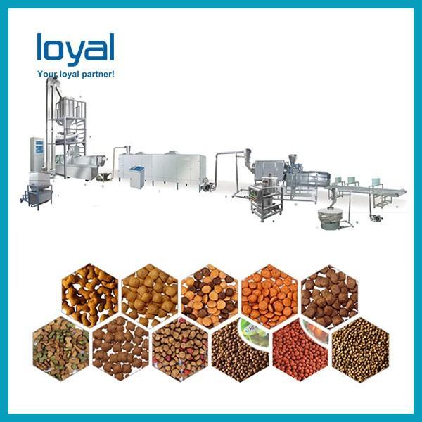 Bulk China Hot Selling Automatic Pet feed pellet/cat/dog food processing line/making machines #3 image
