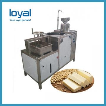 Automatic soya milk tofu bean curd panner making machine
