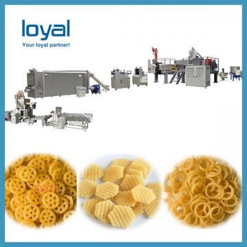 Auto Corn Bugles Chips Snack Machines Sala Sticks Wheat Shell Fried Food Processing Line