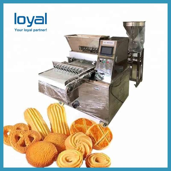 Food Cookie Forming Machine , Biscuit Forming Small / Mini Cookie Machine #3 image