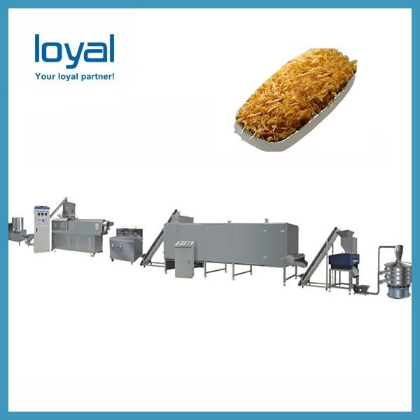 Hot Selling Corn Flakes Baked Machine Breakfast Cereal Inflating Device Extrusion Production Line #2 image