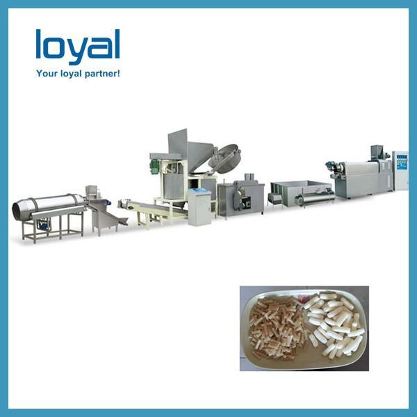 Puffed snacks/flour fried salad sticks/bugles chips food processing line machine #2 image