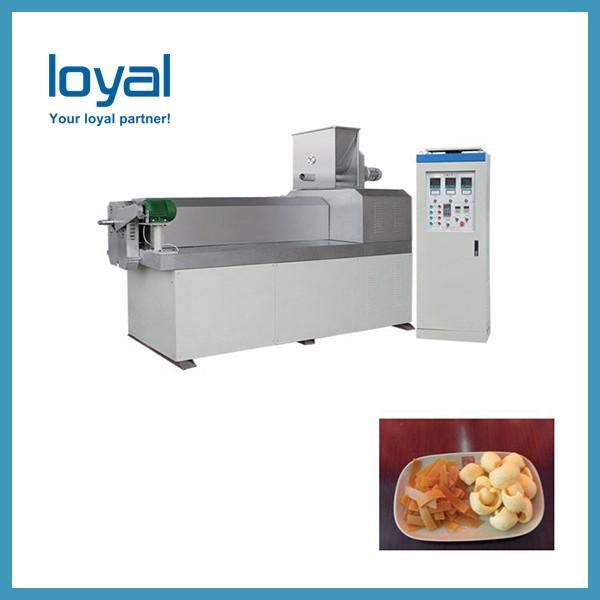 Flour crispy snacks salad chips processing line potato stick making machine #3 image