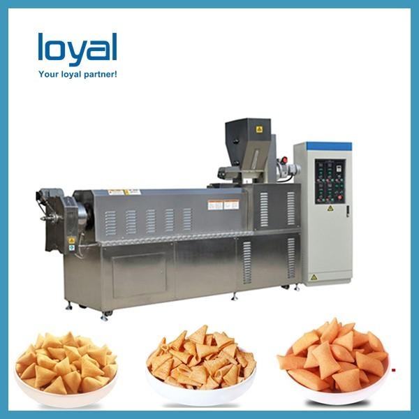 Screw/shell/extrusion fried pellet snacks equipment processing line #2 image