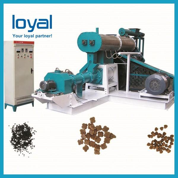 Automatic Large Twin Screw Extruder Pet Food Processing Animal Feed Pellets Machine Production Line #1 image