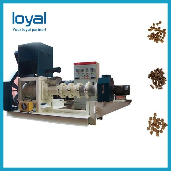 Automatic Large Twin Screw Extruder Pet Food Processing Animal Feed Pellets Machine Production Line #3 image