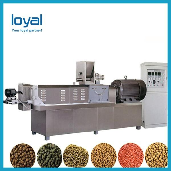 Automatic Pet Food Production Line stainless steel material pet meat snack machine #2 image