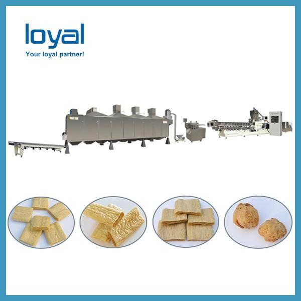 Textured soy protein for making soya nuggets food processing machine #1 image